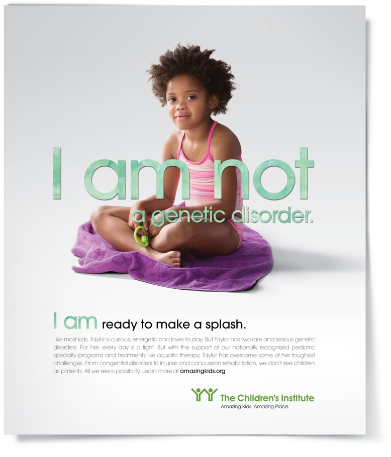 I am not a genetic disorder.