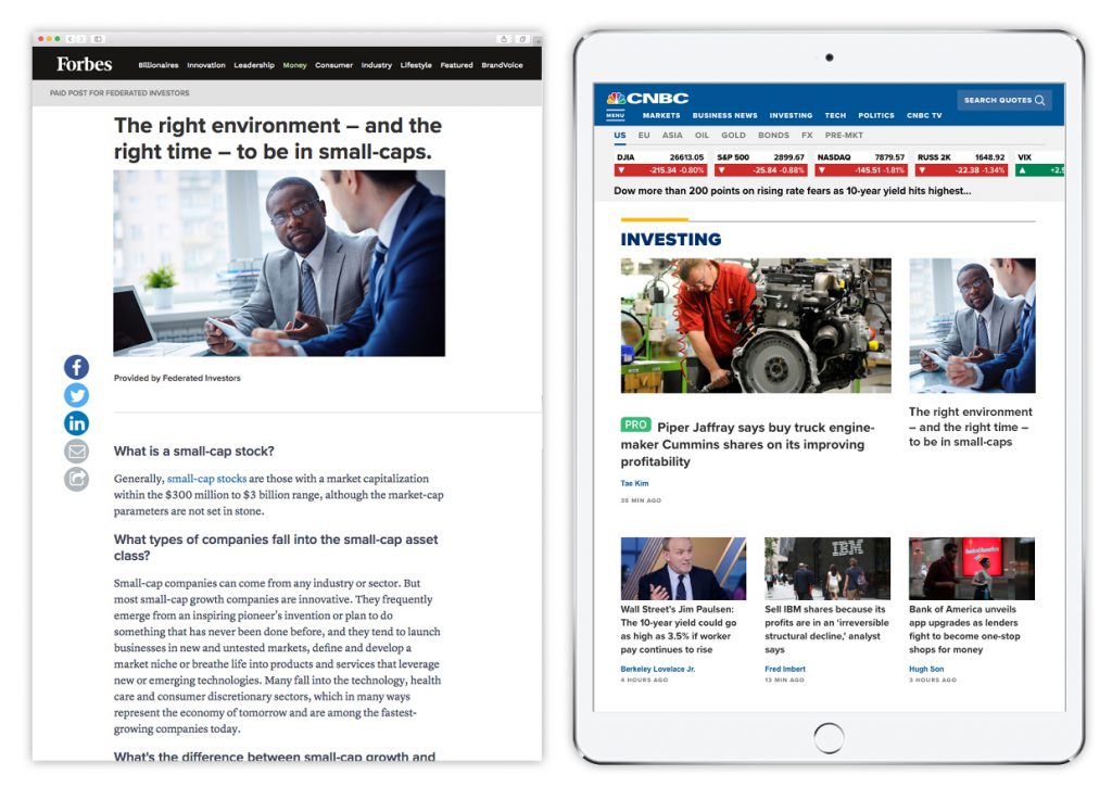 Federated Investors Forbes and CNBC
