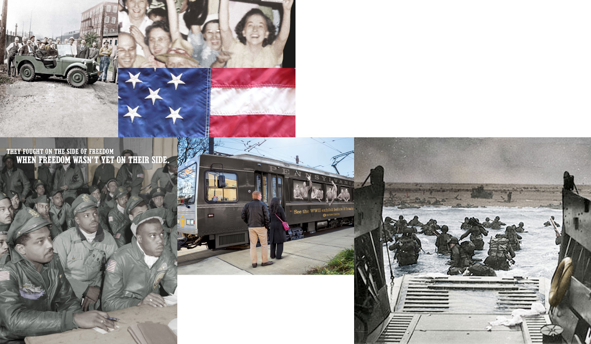The History Center Faced an Uphill BattLE Promoting Its WWII Exhibit.