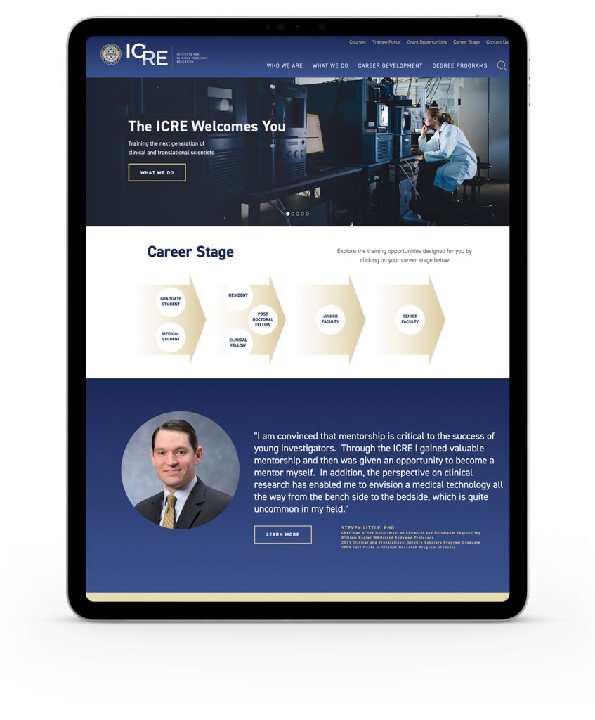 Pitt ICRE Website