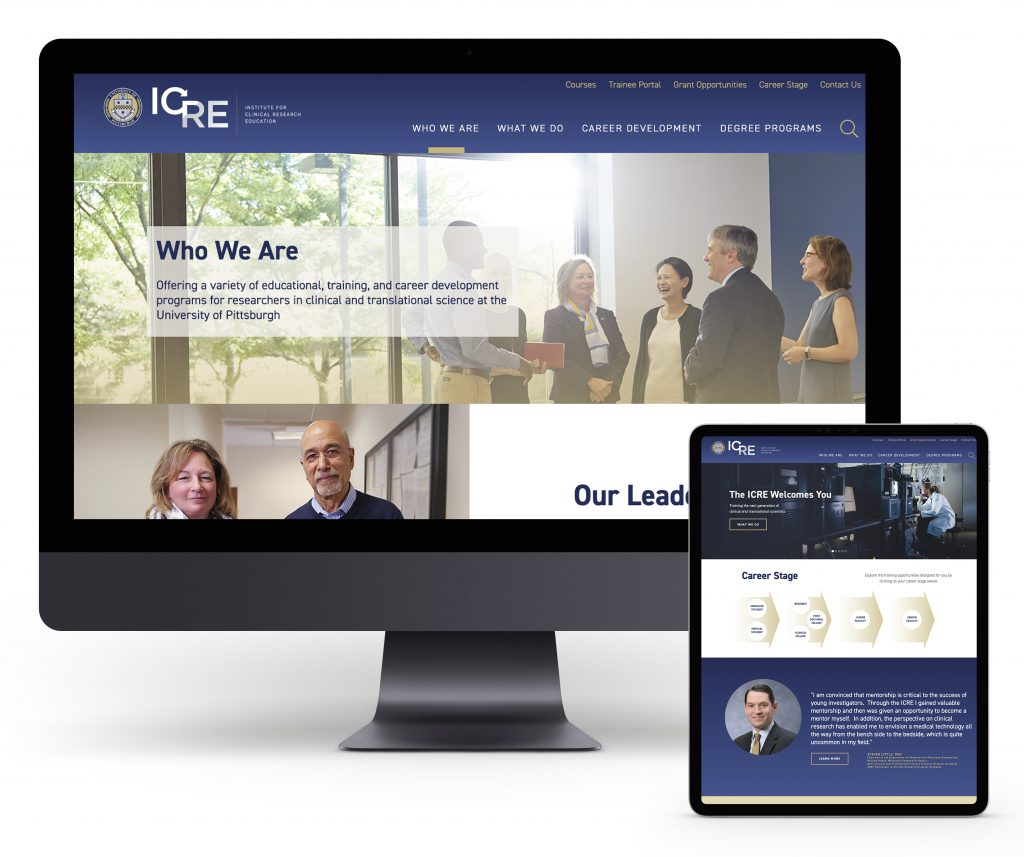 University of Pittsburgh ICRE Website