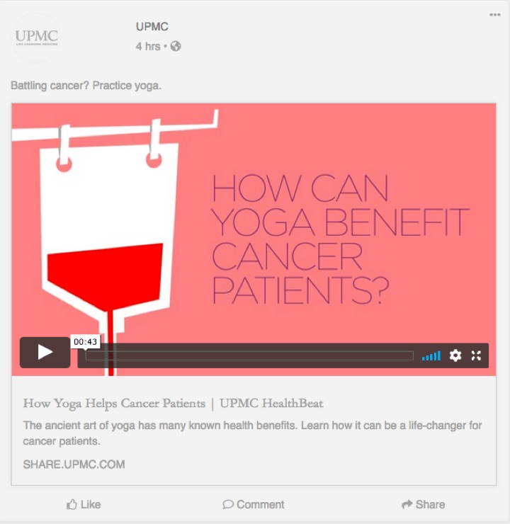 How can yoga benefit cancer patients?