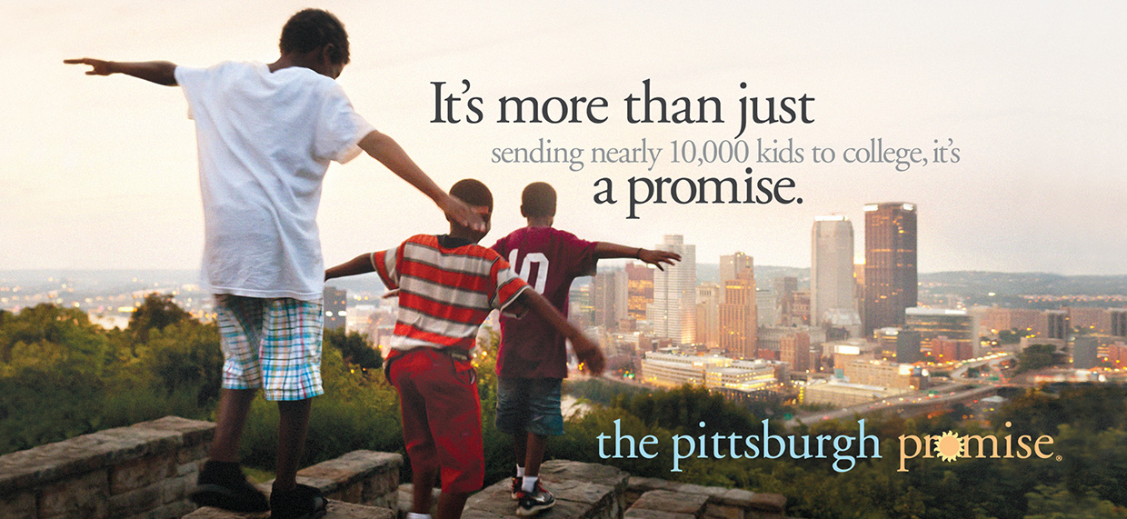 It's more than just sending nearly 10,000 kids to college, it's a promise.
